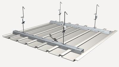Prix en Algérie de m² de Faux plafond démontable à lames de PVC ...